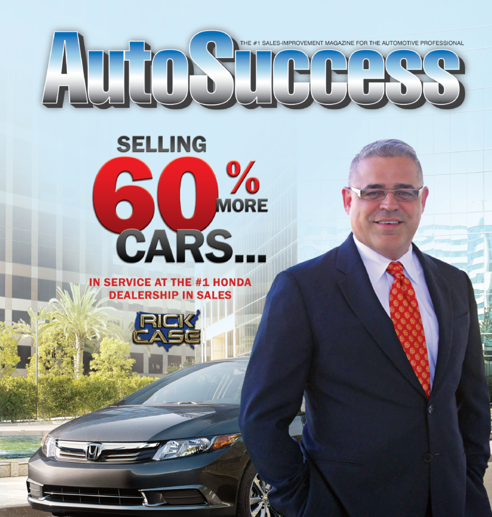 Success Story: Rick Case Honda Sells 60% More Cars